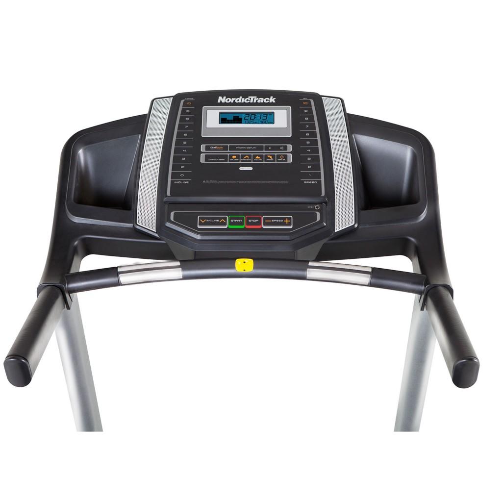 Nordic Track C100 treadmill console
